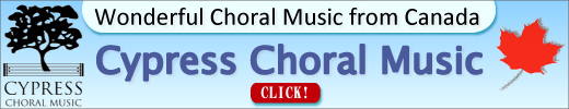 Wonderful Choral Music from Canada Cypress Choral Music