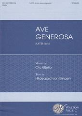 ave generosa satb gjeilo ola 合唱楽譜のパナムジカ