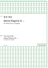 Salve Regina G for SATB Choir a cappella